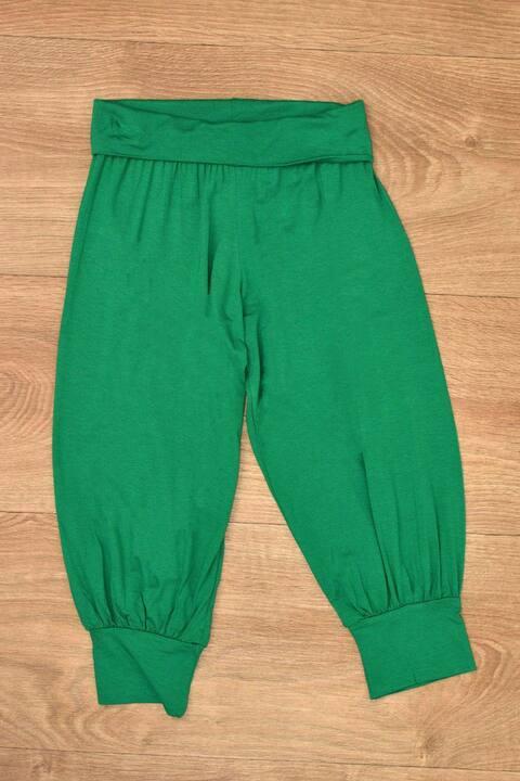 Γυναικείο παντελόνι τύπου σαλβάρι - Πράσινο