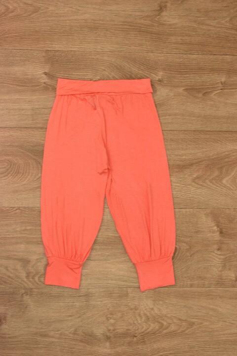 Γυναικείο παντελόνι τύπου σαλβάρι - Πορτοκαλί