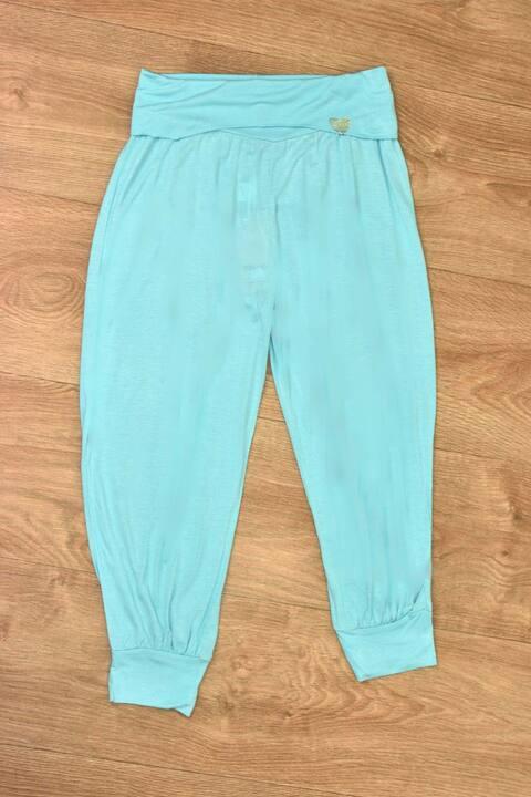 Γυναικείο παντελόνι τύπου σαλβάρι - Γαλάζιο