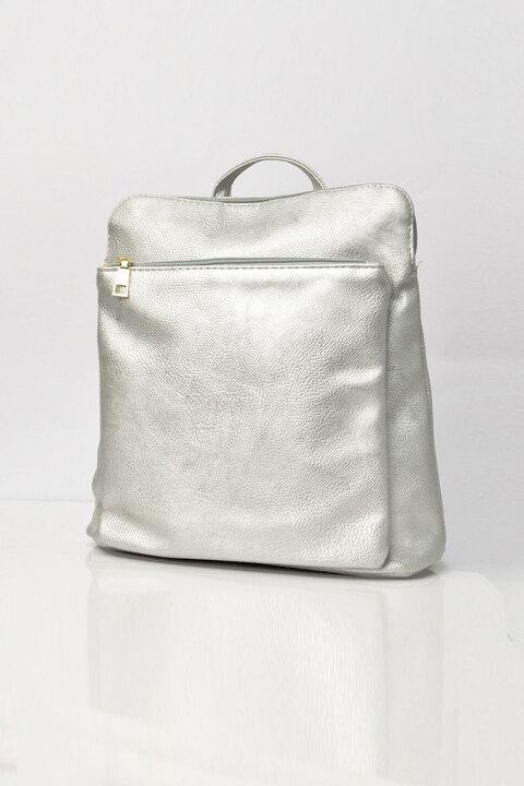 Τσάντα backpack - Ασημί