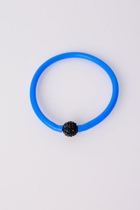Γυναικείο βραχιόλι με σχεδιο χάντρα - Μπλε