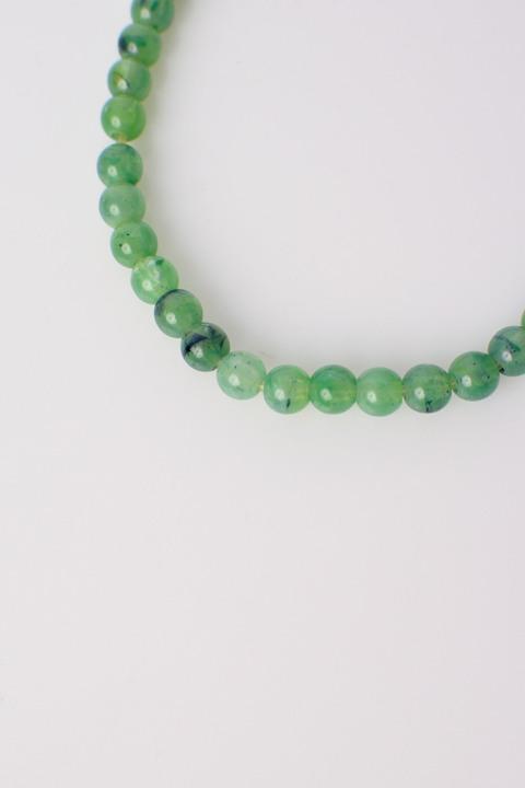 Γυναικείο κολιέ με χάντρες - Πράσινο