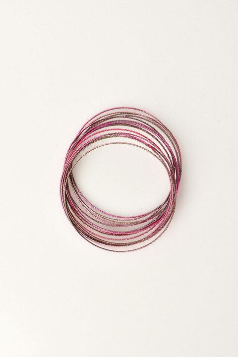Γυναικεία βραχιόλια σε όμορφα χρώματα - Ροζ