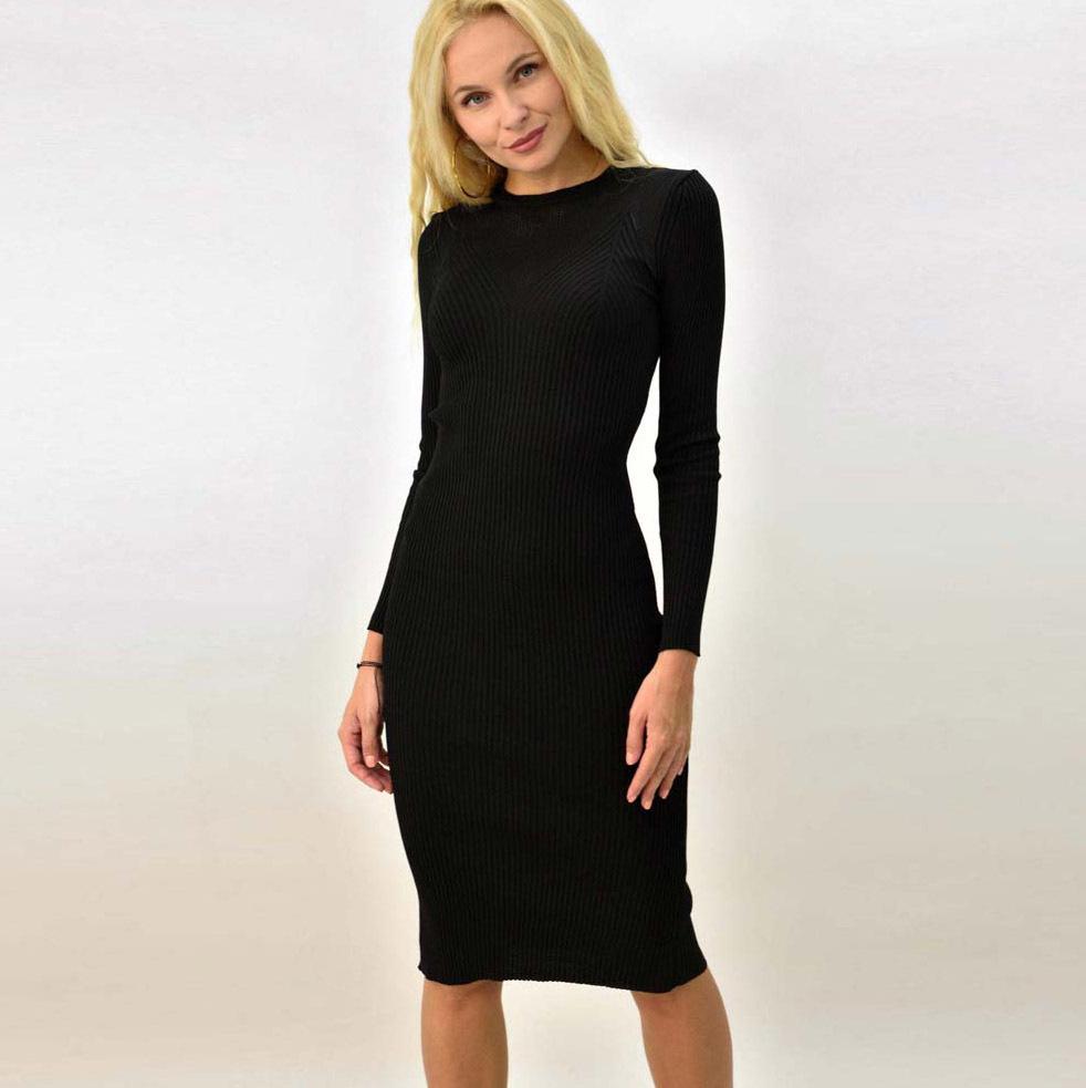 Γυναικείο φόρεμα εφαρμοστό με διάτρητες λεπτομέρειες