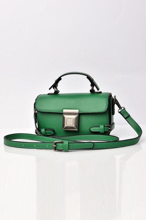 Γυναικεία τσάντα ώμου  - Πράσινο