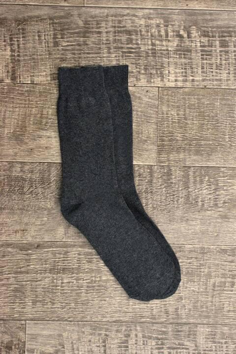 Ανδρικές κάλτσες μονόχρωμες - Ανθρακί