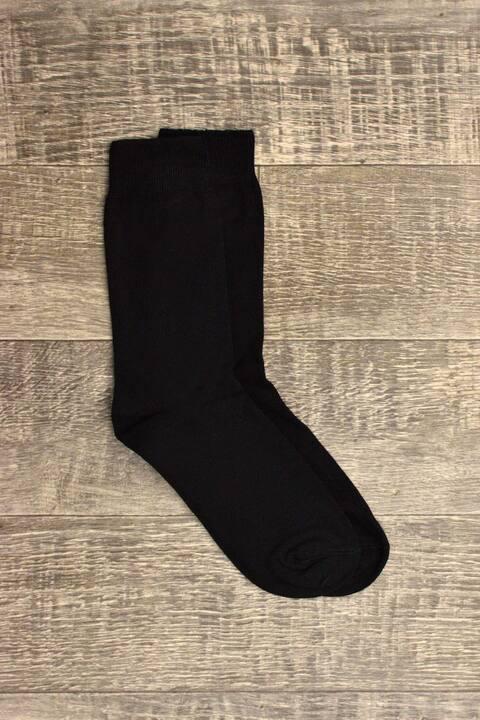 Ανδρικές κάλτσες μονόχρωμες - Μαύρο