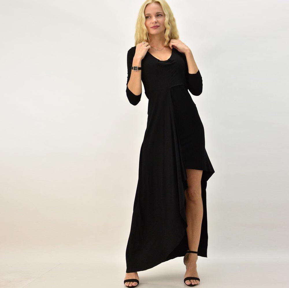 Μάξι φόρεμα με ανοίγμα