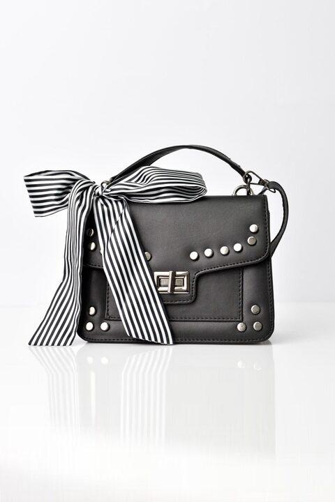 Γυναικεία τσάντα ώμου και χείρος - Μαύρο