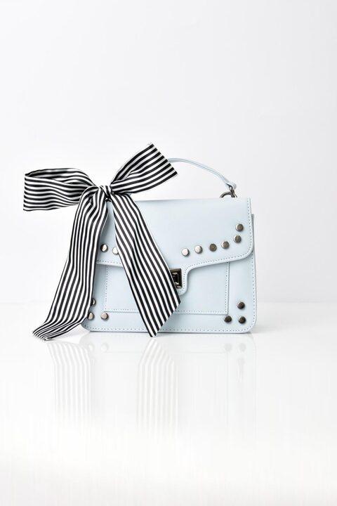 Γυναικεία τσάντα ώμου και χείρος - Σιέλ