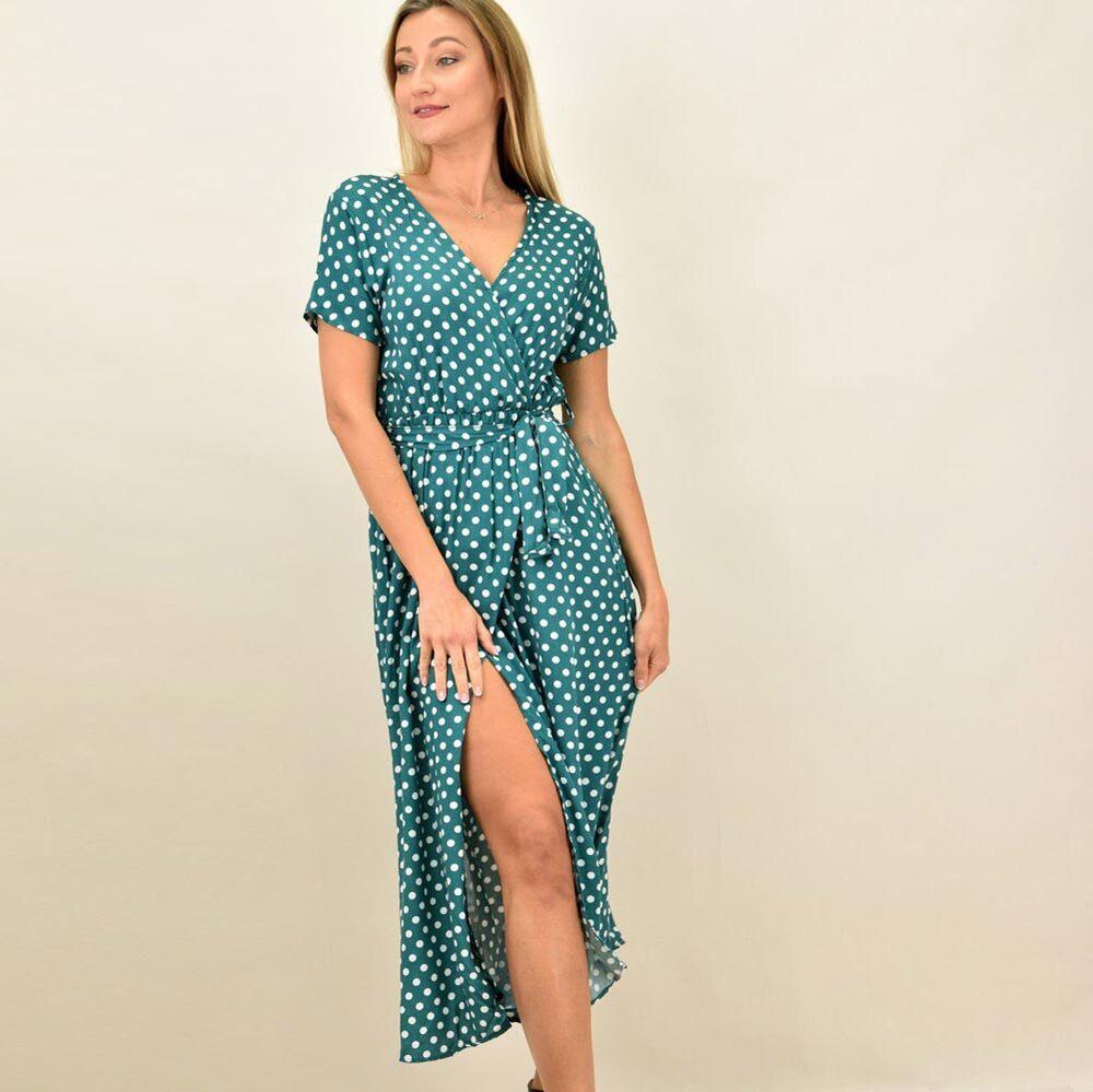 Γυναικείο φόρεμα πουά