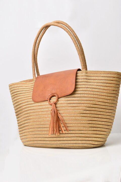 Ψάθινη τσάντα  - Ταμπά