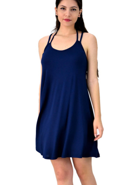Μίνι φόρεμα με χιαστί