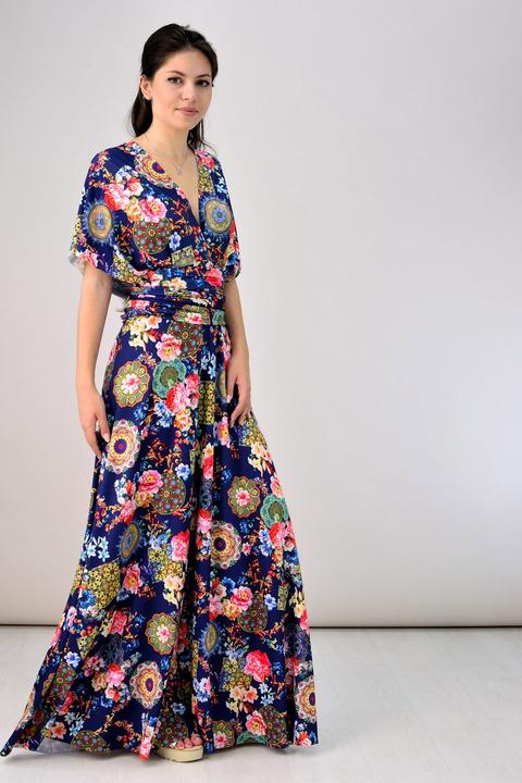 Πολυμορφικό φόρεμα - Μπλε Σκούρο