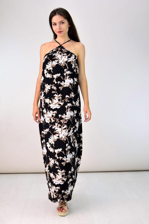 Maxi φόρεμα - Μαύρο