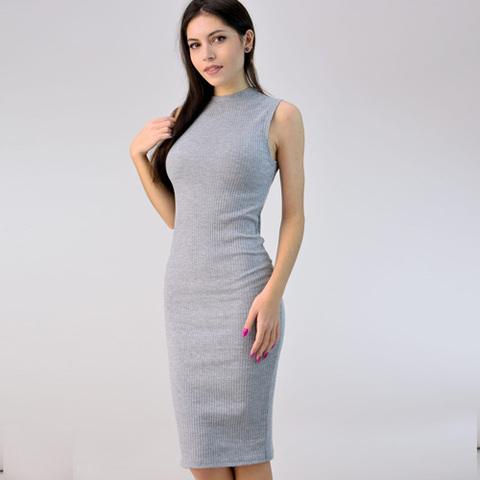 Φόρεμα με γραμμή pencil