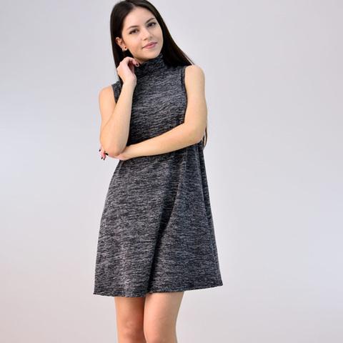 Mini φόρεμα με λαιμό ζιβάγκο