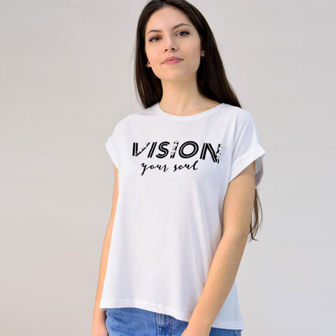 Μπλούζα με τύπωμα vision