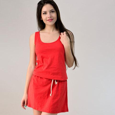 Φόρεμα μίνι με ζώνη