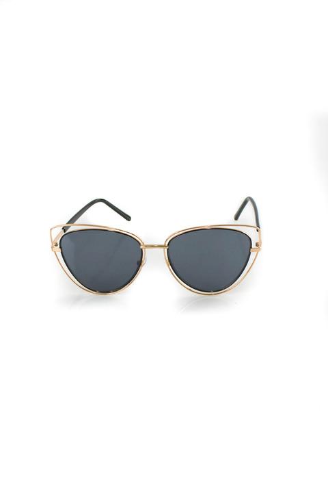 Γυαλιά ηλίου cat-eye - Μπλε Σκούρο
