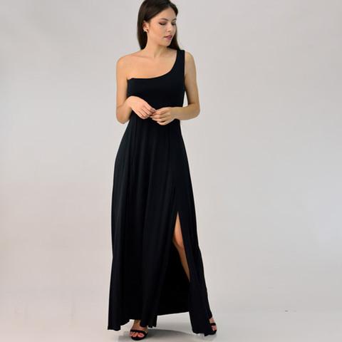 Φόρεμα μάξι με έναν ώμο
