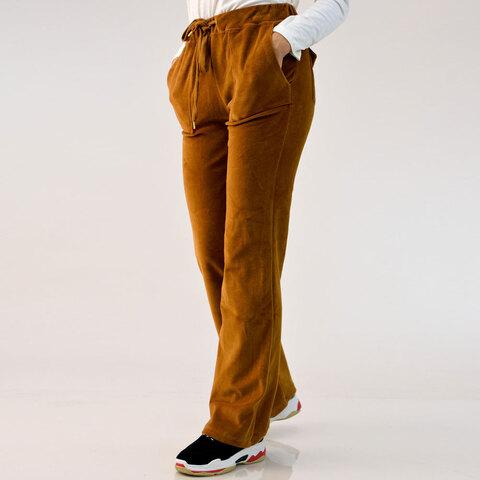 Παντελόνι φόρμα βελουτέ