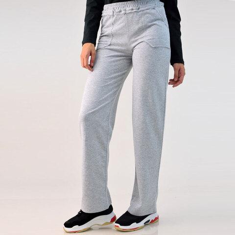 Παντελόνι φούτερ με εξωτερικές τσέπες