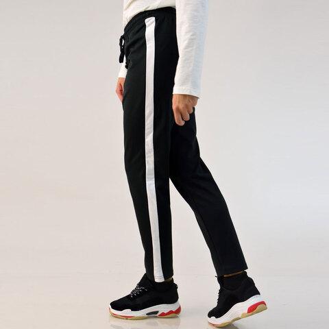 Παντελόνι φούτερ με ρίγα