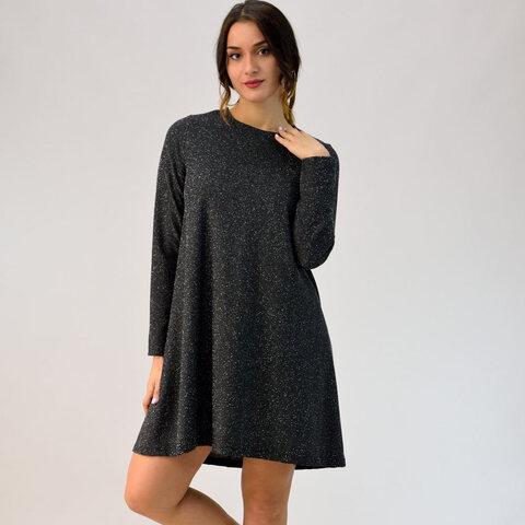 Φόρεμα κλος με εβαζέ μανίκι
