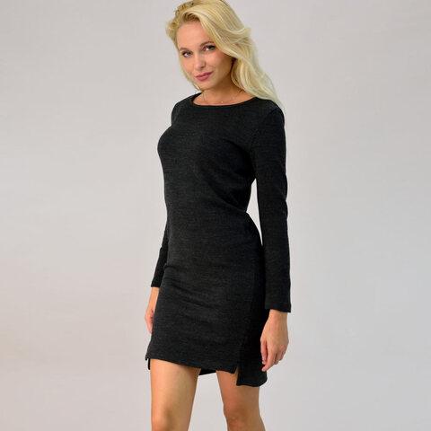 Πλεκτό mini φόρεμα
