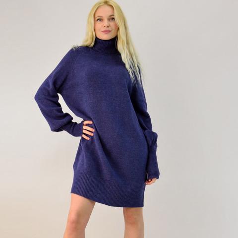 Γυναικείο πλεκτό φόρεμα oversized