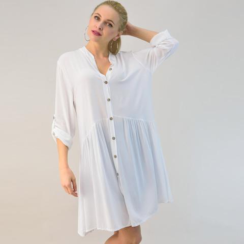 Γυναικείο φόρεμα σε στυλ πουκάμισο