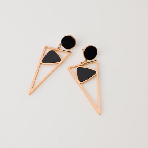 Γυναικεία σκουλαρίκια τρίγωνα