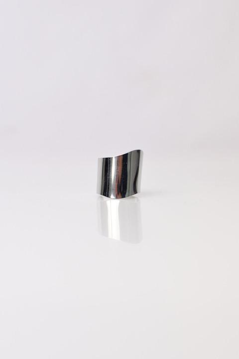 Γυναικείo δακτυλίδι από ατσάλι  - Ασημένιο