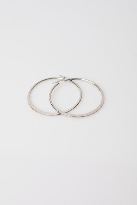 Γυναικεία σκουλαρίκια κρίκοι - Ασημένιο
