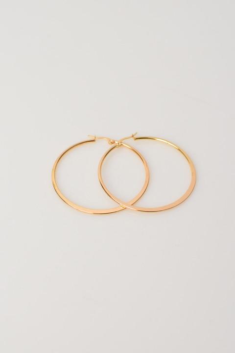 Σκουλαρίκια κρίκοι σε χρυσό χρώμα - Χρυσό