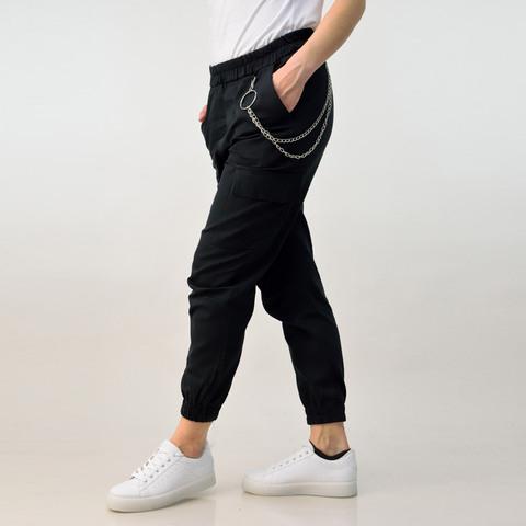 Γυναικείο παντελόνι με αλυσίδα