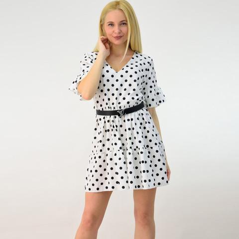 Γυναικείο φόρεμα μίνι πουά