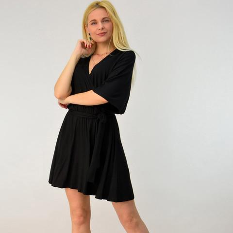 Κοντό κρουαζέ φόρεμα