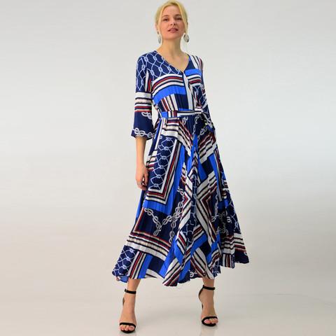 Γυναικείο φόρεμα με πιέτες