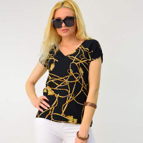 Γυναικείο εμπριμέ πουκάμισο