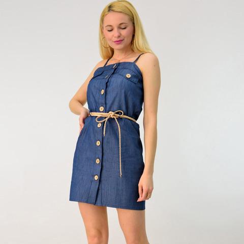 Φόρεμα μίνι τζιν