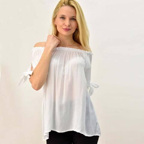 Γυναικεία μπλούζα με σχέδιο φιόγκο