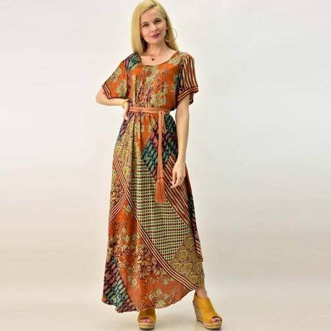 Γυναικείομεταξωτό φόρεμα boho
