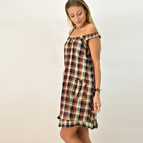 Γυναικείο φόρεμα καρό