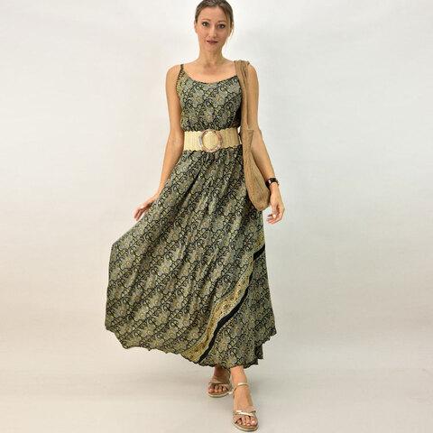 Γυναικείο φόρεμα με λεπτή τιράντα